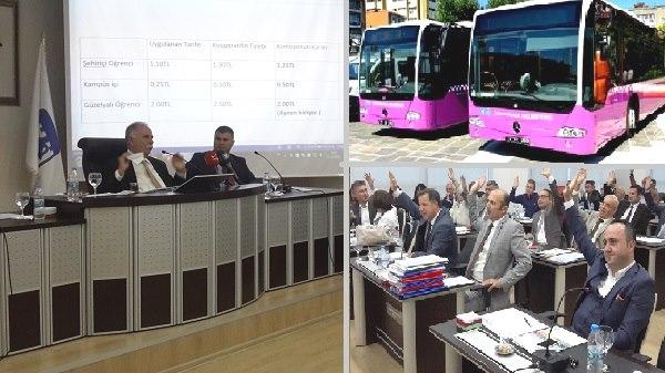 Öğrencilere Kötü Haber; Otobüs Ücretleri Zamlandı!