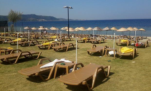 Güzelyalı Piknik ve Plaj Alanı Çanakkalelilerin Gözdesi Oldu!
