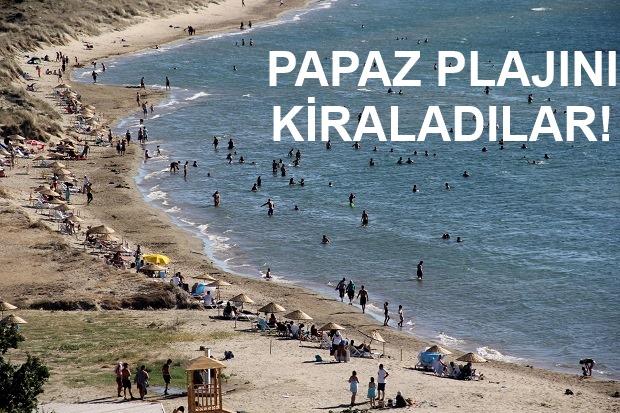 Papaz Plajının Kiralanmasına Büyük Tepki!