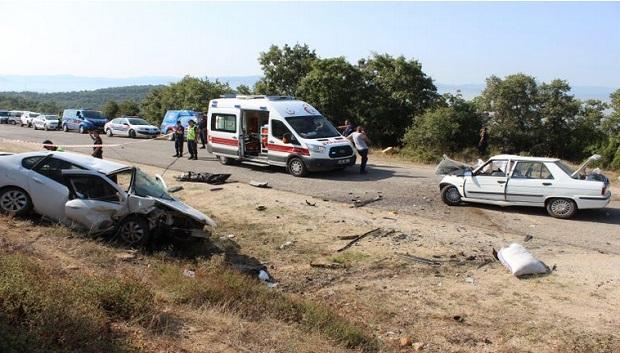 Çan'da Trafik Kazası: 2 Ölü, 2 Yaralı