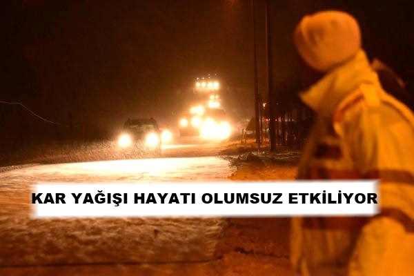 Feribot Seferleri İptal, Yollar Kapalı..
