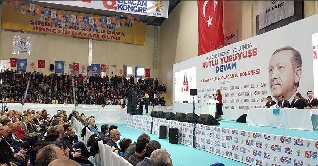 AK Parti Çanakkale İl Kongresi Tamamlandı