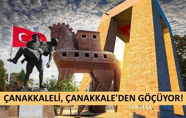 Parası Olan Çanakkale'ye Göçüyor!