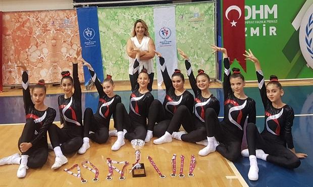 Genç Kızlar, Türkiye İkincisi Oldu