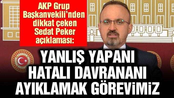 Turan'dan Peker Açıklaması: