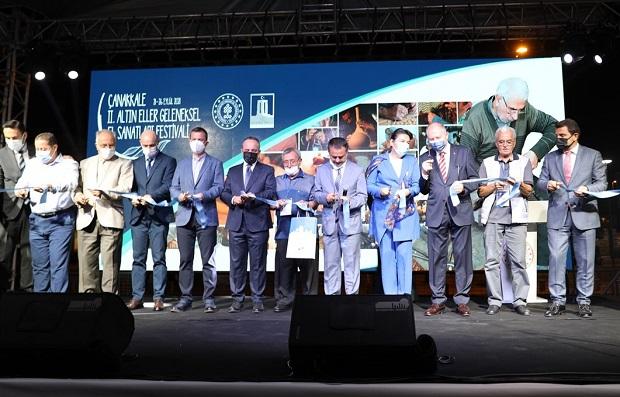 Altıneller Geleneksel El Sanatları Festivali Açıldı