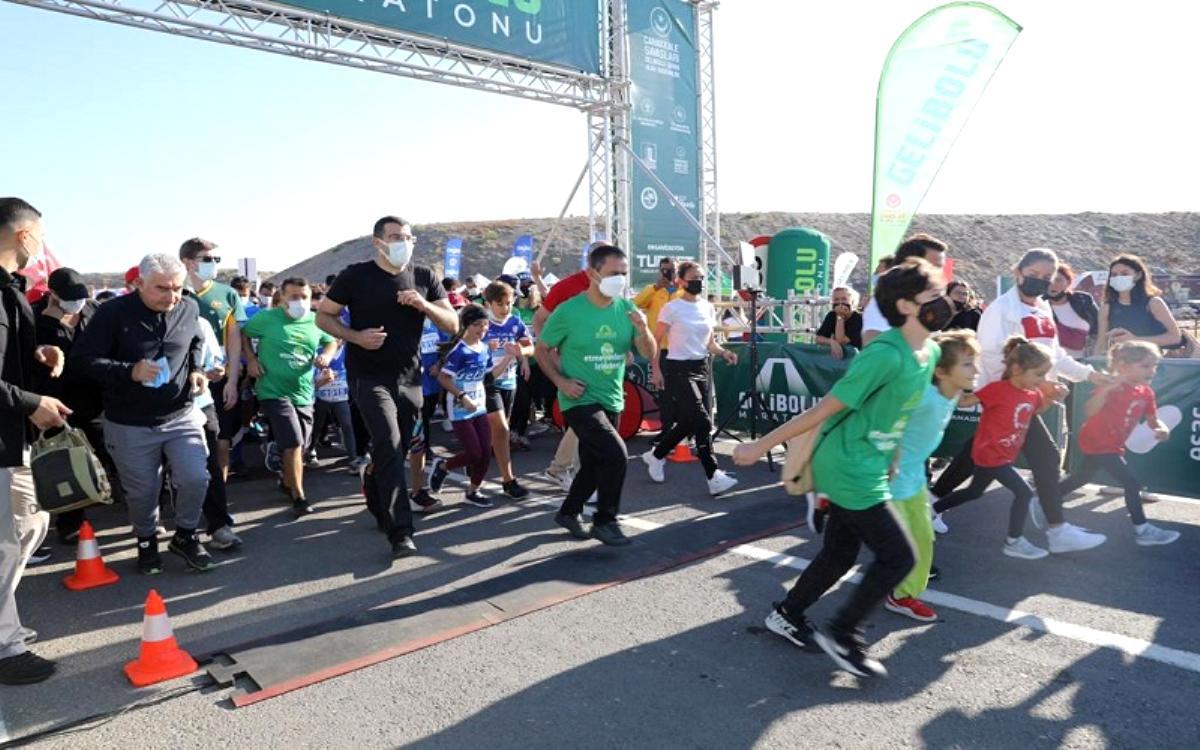 6.Uluslararası Gelibolu Maratonu Gerçekleştirildi