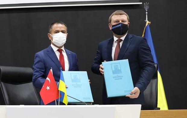 Çanakkale-Ukrayna Kardeş İl Protokolü İmzalandı